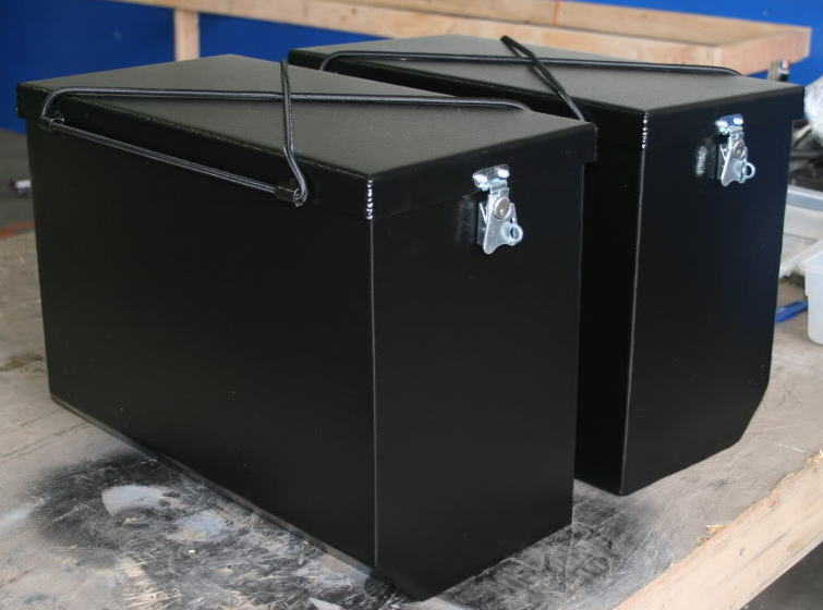 Epic Panniers in Black Powdercoat